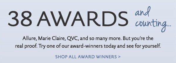 Shop all award winners