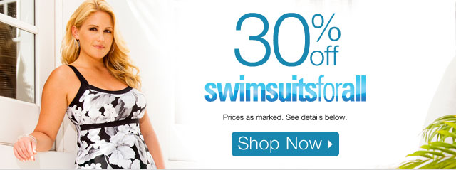 30% off swimsuitsforall
