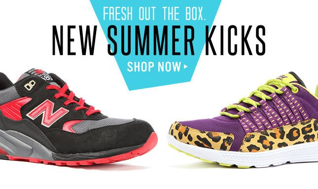 Shop Summer Kicks