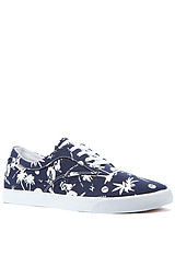 The Sutter Sneaker in Blue Hawaiian