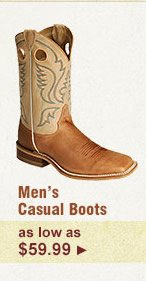 Mens Casual Boots on Sale