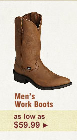 Mens Work Boots on Sale