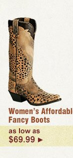 Womens Affordable Fancy Boots on Sale