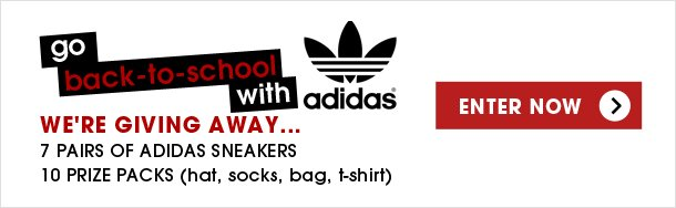 Enter to Win from Adidas!