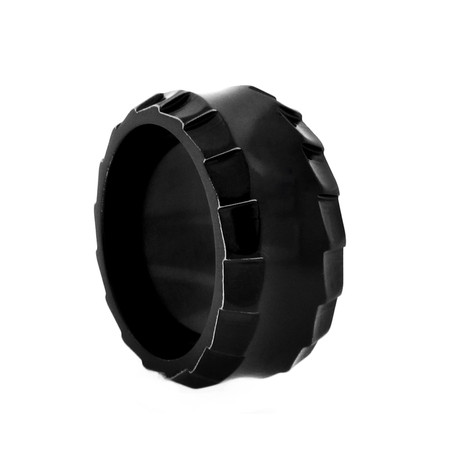 Templar Ring // Black + 10mm