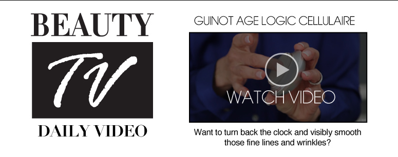 Beauty TV Daily Video Guinot Age Logic Cellulaire  Want to turn back the clock on the visible signs of aging? You can't miss this!  Watch Video>>