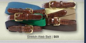 Stretch-Web Belt   $69