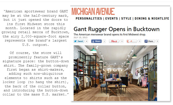 MICHIGAN AVE MAG