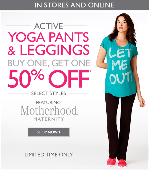 Active Yoga Pants and Leggings - Buy One Get One 50% Off