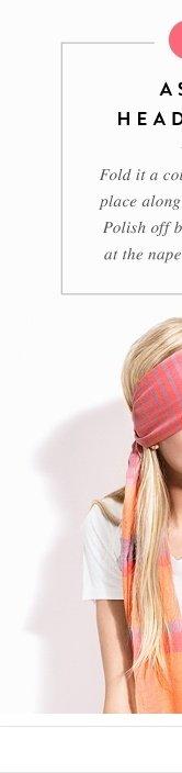 As A Headband