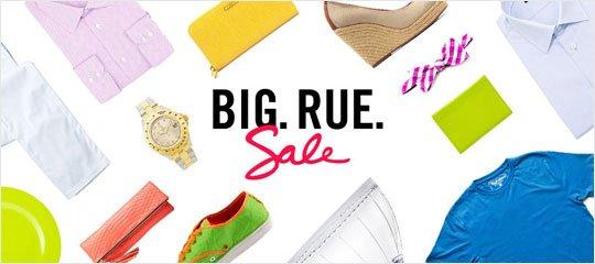 Big. Rue. Sale.