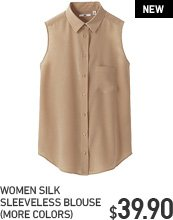 SHORT SLEEVELESS BLOUSE