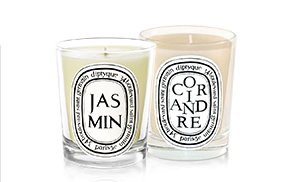 Jasmin + Coriandre to combine green and fresh notes to the Jasmin flower.