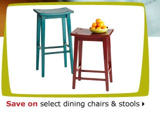 Save on select dining chairs & stools