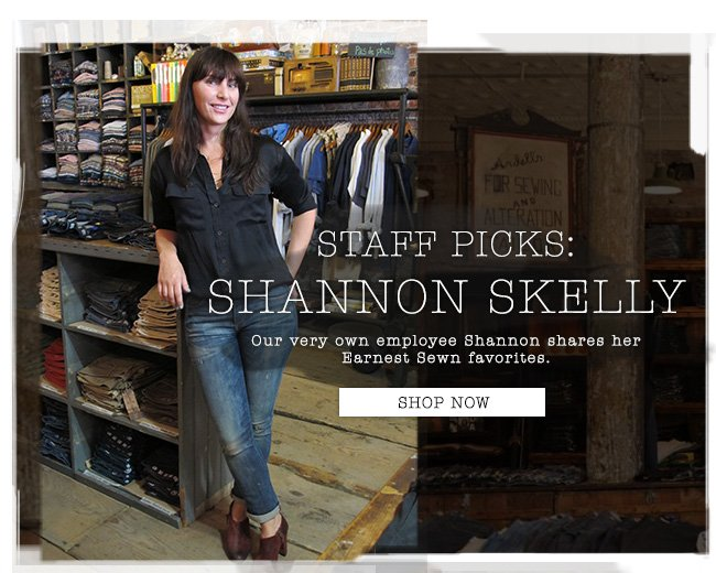 Staff Picks: Shannon Skelly