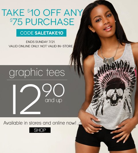 Graphic Prints from $12.90 - Shop In Store and Online.