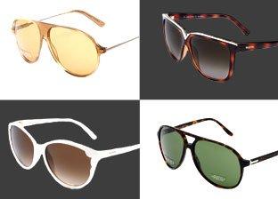 Italian Designers Sunglasses: Valentino, Gucci, Roberto Cavalli & more