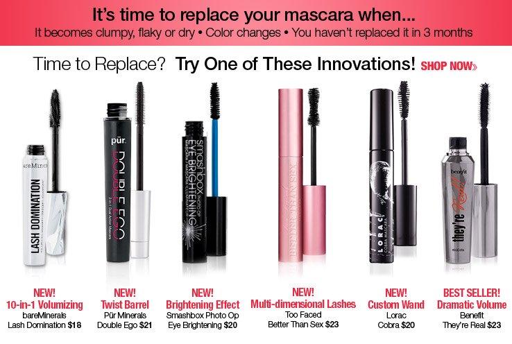 Innovative Mascaras