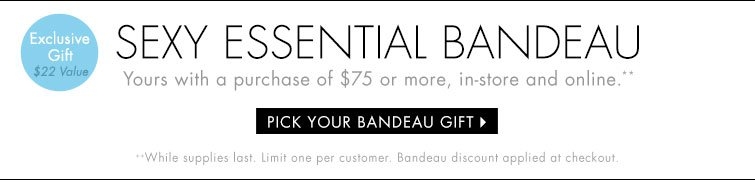 Pick Your Bandeau Gift