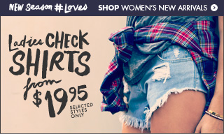 Shop ladies shirts!