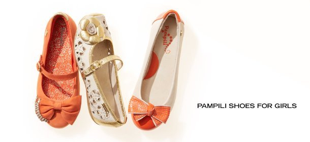 PAMPILI SHOES FOR GIRLS, Event Ends July 23, 9:00 AM PT >