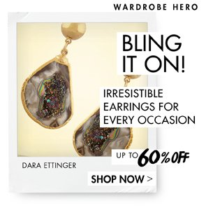 IRRESISTIBLE EARRINGS UP TO 55% OFF