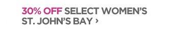 30% Off Select Women's St. John's Bay ›