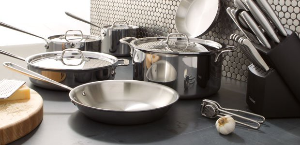 The Professional Kitchen: Stainless Steel Cookware