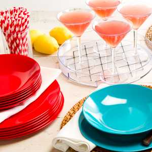 Patio-Party Proof: Melamine Dishes & More