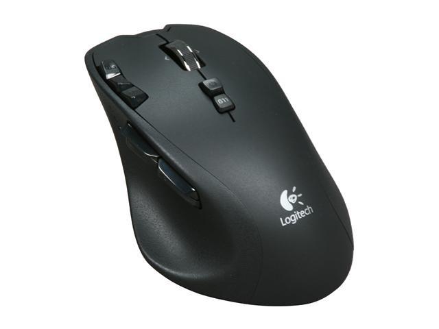 Logitech G700 Black 13 Buttons Tilt Wheel USB RF Wireless Laser 5700 dpi Gaming Mouse