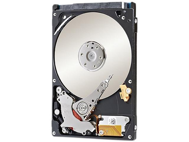 Seagate Solid State Hybrid ST500LM000 500GB 64MB Cache 2.5 inch SATA 6.0Gb/s Laptop Thin Hard Drive - Bare Drive