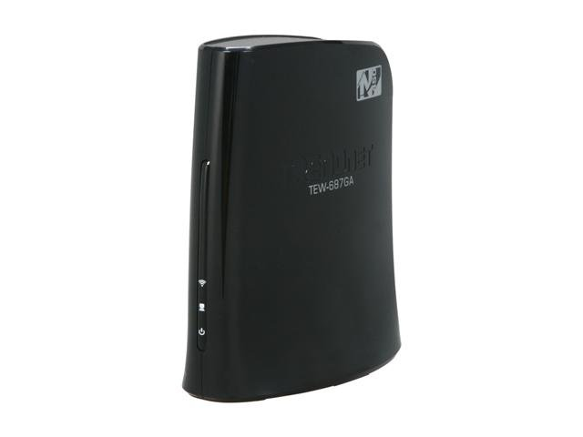 TRENDnet TEW-687GA N450 Wireless Gaming Adapter IEEE 802.11b/g/n Ethernet Port Up to 450Mbps Wireless Data Rates WPA2