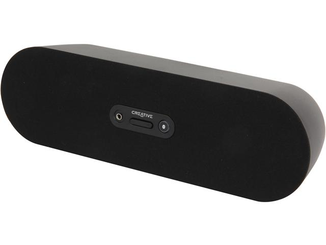 Refurbished: Creative Bluetooth Wireless Speaker (Black) D80