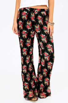 WONDERFLORAL WORLD PANTS 33