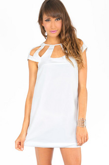 STRAPPED IN SHIFT DRESS 37