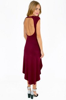 SCOOP AND LOOP BACK DRESS 29