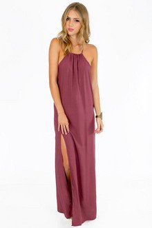 SLIT SECOND MAXI DRESS 37