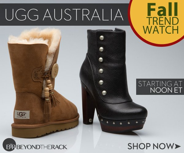 UGG Australia – need we say more? Shop the latest styles before they're gone.
