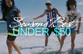 Season's Best Under $50