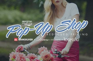 Karmaloop Pop-Up Shop: Reduced Pricing
