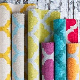 Going Geometric: Textiles & Décor
