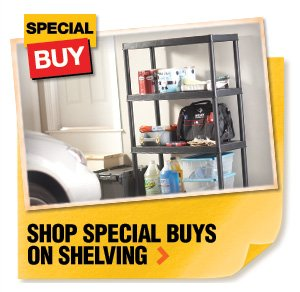 Shop Special Buys on Shelving