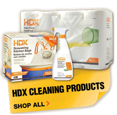 HDX Cleaning Products