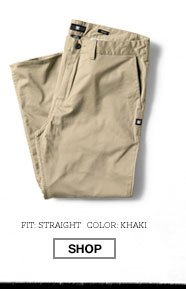 Worker Straight Fit Pant