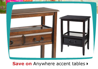 Save on Anywhere accent tables
