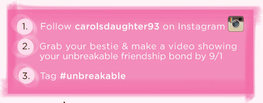 Follow carolsdaughter93 on Instagram