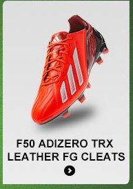 Shop Men's F50 adizero TRX Leather Cleats »