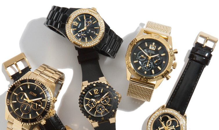 Shop Black and Gold Watches