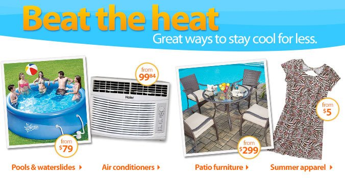 Beat the heat - Great ways to stay cool for less.