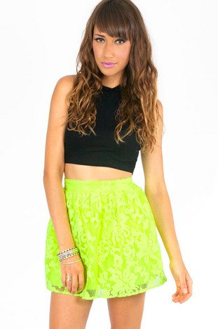 ELECTRIC GARDEN SKIRT 37